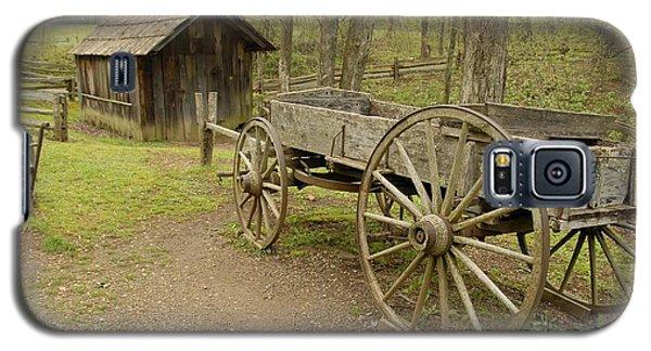 Wooden Wagon Galaxy S5 Case