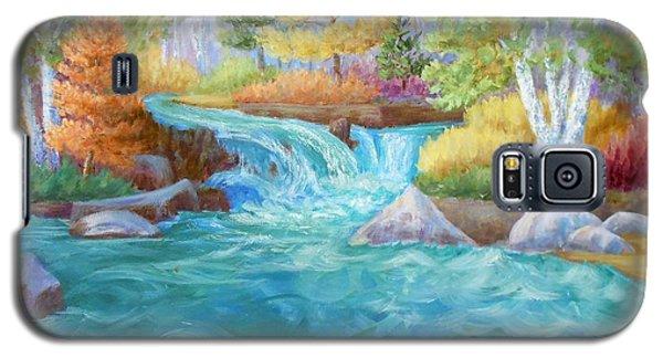 Woodland Stream Galaxy S5 Case by Irene Hurdle