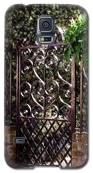 Galaxy S5 Case featuring the photograph Wrought Iron by Jean Haynes