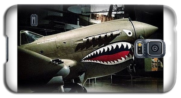 Ww2 Curtiss P-40e Warhawk Galaxy S5 Case by Natasha Marco