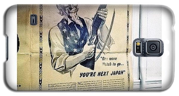 Ww2 Vintage War Bonds Advertising Galaxy S5 Case by Natasha Marco
