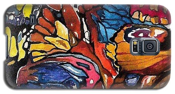 Galaxy S5 Case - Butterflies Wings........ by Sandra Lira