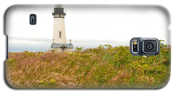 Yaquina Head Lighthouse In Oregon Galaxy S5 Case by Artist and Photographer Laura Wrede