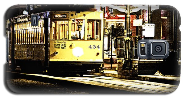 Galaxy S5 Case featuring the photograph Ybor Train by Angelique Olin