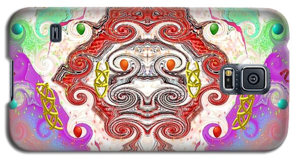 Galaxy S5 Case featuring the digital art Year Of The Dragon by Alec Drake
