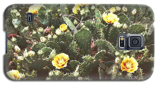 Yellow Cactus Galaxy S5 Case