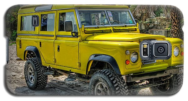 Yellow Jeep Galaxy S5 Case