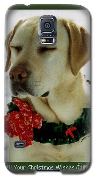 Yellow Lab Christmas Dreams Galaxy S5 Case