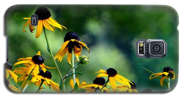 Galaxy S5 Case featuring the photograph Yellow Petals by Elizabeth Coats