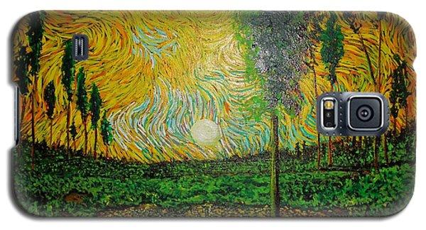 Yellow Pond Galaxy S5 Case