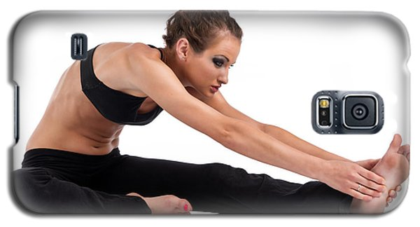 Yoga Head To Knee Galaxy S5 Case