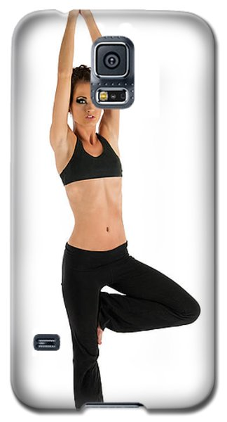 Yoga Pose Tree Galaxy S5 Case