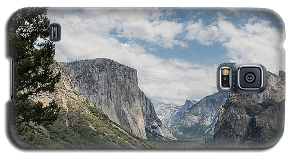 Yosemite Valley From Tunnel View At Yosemite Np Galaxy S5 Case