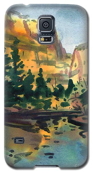 Yosemite Valley In January Galaxy S5 Case