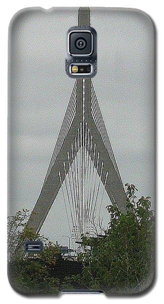Galaxy S5 Case featuring the photograph Zakim Bridge by Bruce Carpenter