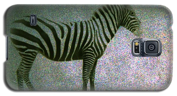 Galaxy S5 Case featuring the photograph Zebra by Kelly Hazel
