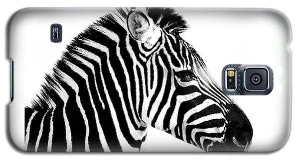 Galaxy S5 Case featuring the photograph Zebra by Rebecca Margraf