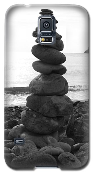 Galaxy S5 Case featuring the photograph Zen Tower by Ramona Johnston