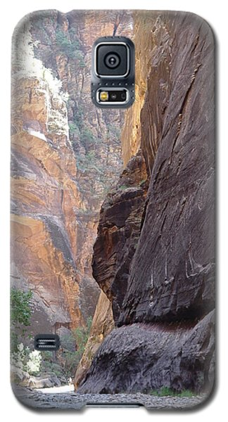 Galaxy S5 Case featuring the photograph Zion Awe by Elizabeth Sullivan