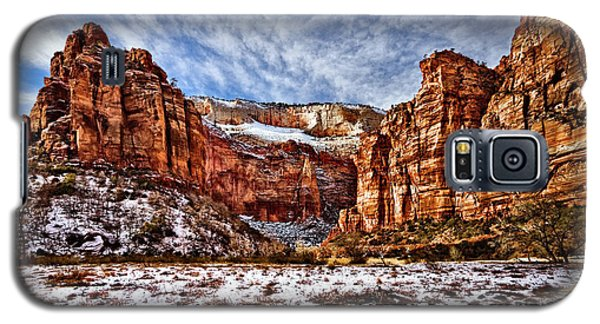 Zion Canyon In Utah Galaxy S5 Case