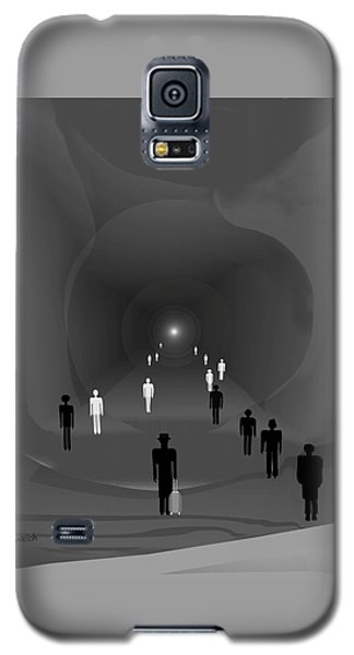 249 - The Light At The End Of The Tunnel   Galaxy S5 Case by Irmgard Schoendorf Welch