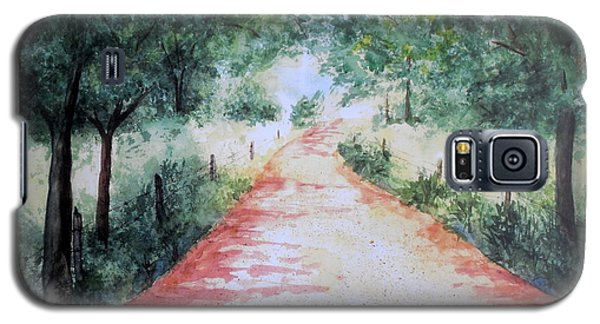A Country Road Galaxy S5 Case
