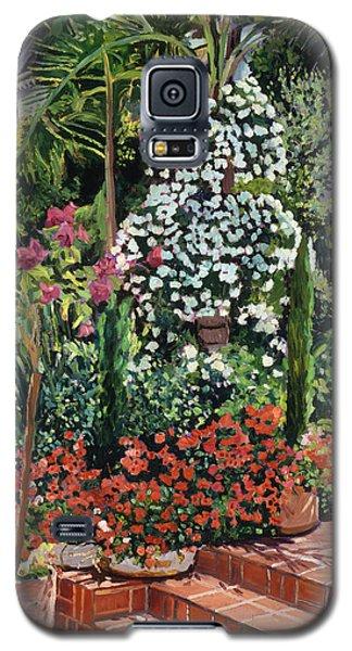 Beverly Hills Galaxy S5 Case -  A Garden Approach by David Lloyd Glover