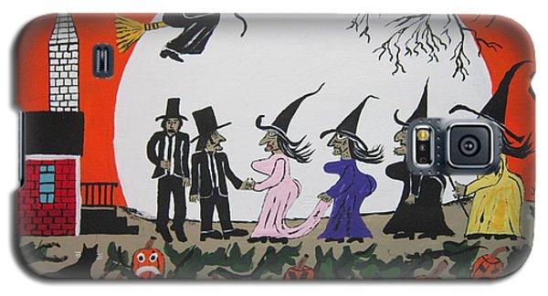 A Halloween Wedding Galaxy S5 Case by Jeffrey Koss
