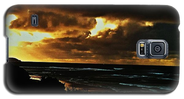 A Stormy Sunrise Galaxy S5 Case by Blair Stuart