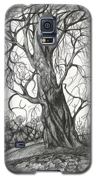 Autumn Dancing Tree Galaxy S5 Case by Anna  Duyunova