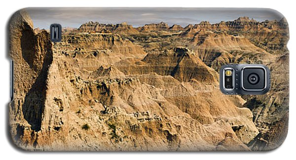 Galaxy S5 Case featuring the photograph  Badlands South Dakota by John Hix