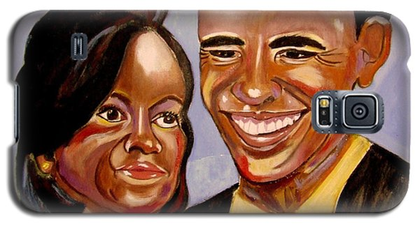 Barak And Michelle Obama   The Power Of Love Galaxy S5 Case
