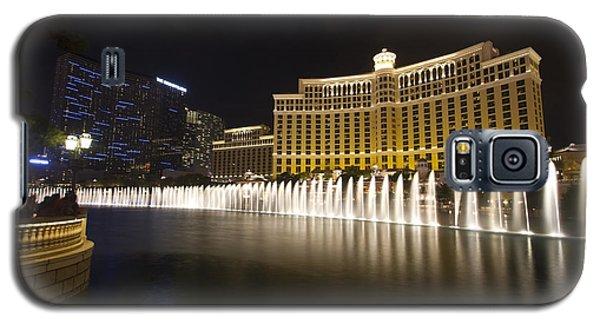 Bellagio Fountain In Las Vegas At Night Galaxy S5 Case