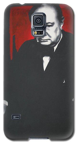 - Churchill - Galaxy S5 Case by Luis Ludzska