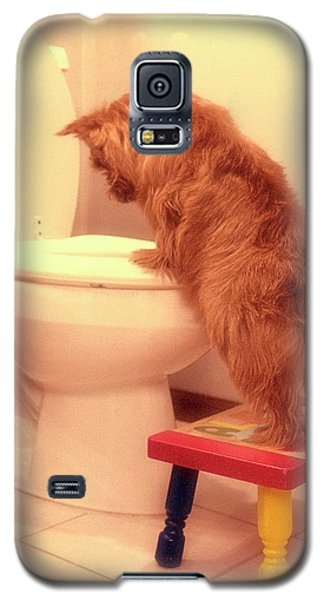 Doggy Potty Training Time  Galaxy S5 Case