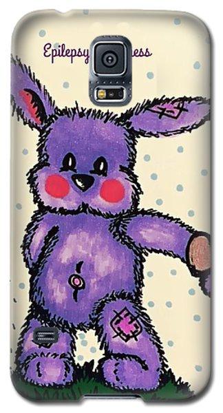 Epilepsy Awareness Bunny Galaxy S5 Case