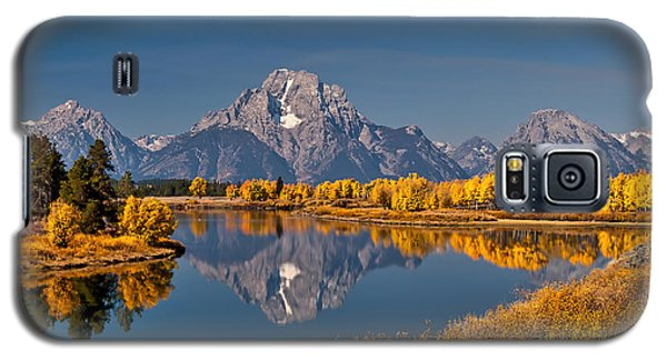 Fall Colors At Oxbow Bend In Grand Teton National Park Galaxy S5 Case