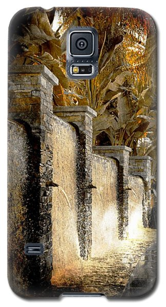 Flowing Waterfall  Galaxy S5 Case by Athala Carole Bruckner