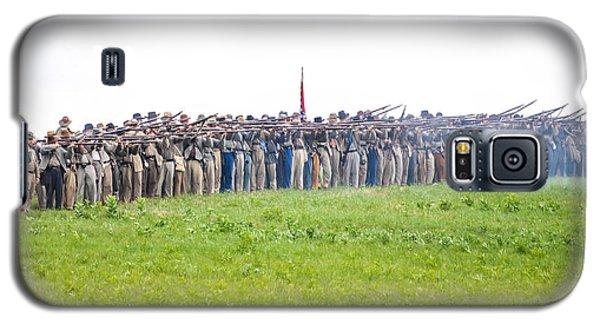 Gettysburg Confederate Infantry 0157c Galaxy S5 Case
