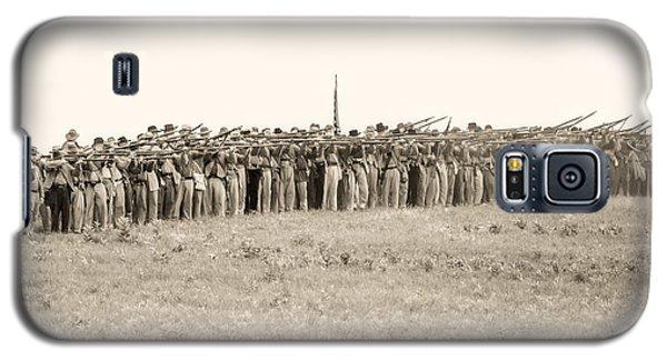Gettysburg Confederate Infantry 0157s Galaxy S5 Case