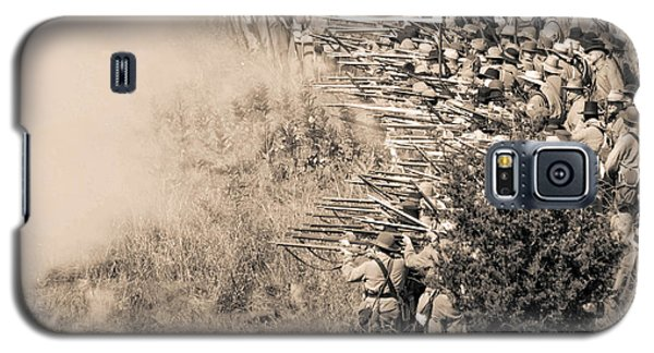 Gettysburg Confederate Infantry 8769s Galaxy S5 Case