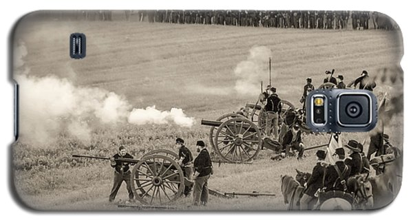 Gettysburg Union Artillery And Infantry 7439s Galaxy S5 Case