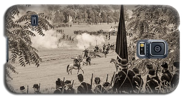 Gettysburg Union Artillery And Infantry 7457s Galaxy S5 Case
