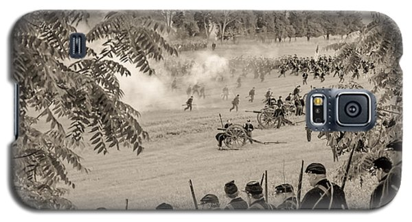 Gettysburg Union Artillery And Infantry 7465s Galaxy S5 Case