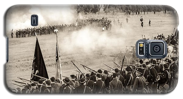 Gettysburg Union Artillery And Infantry 7496s Galaxy S5 Case