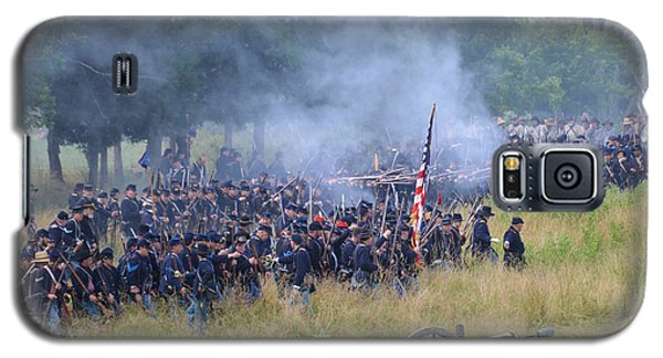 Gettysburg Union Artillery And Infantry 8456c Galaxy S5 Case