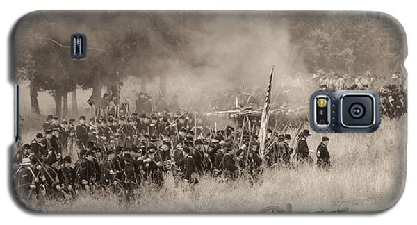 Gettysburg Union Artillery And Infantry 8456s Galaxy S5 Case