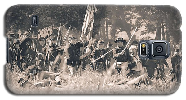 Gettysburg Union Infantry 9348s Galaxy S5 Case