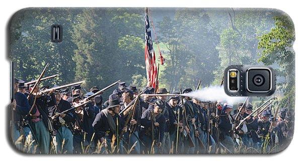 Gettysburg Union Infantry 9372c Galaxy S5 Case