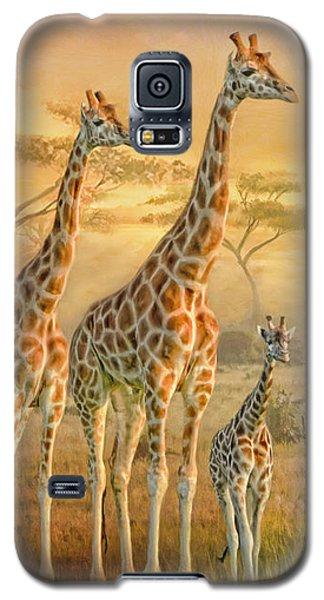 Giraffe Family Galaxy S5 Case